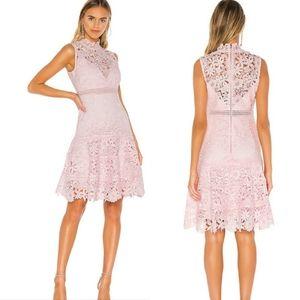 Bardot Elise lace midi dress size L